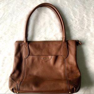 Lodis Leather Tote Handbag
